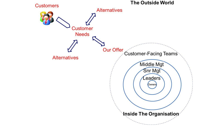 Figure 2: Mature organizations and their internal and external environments