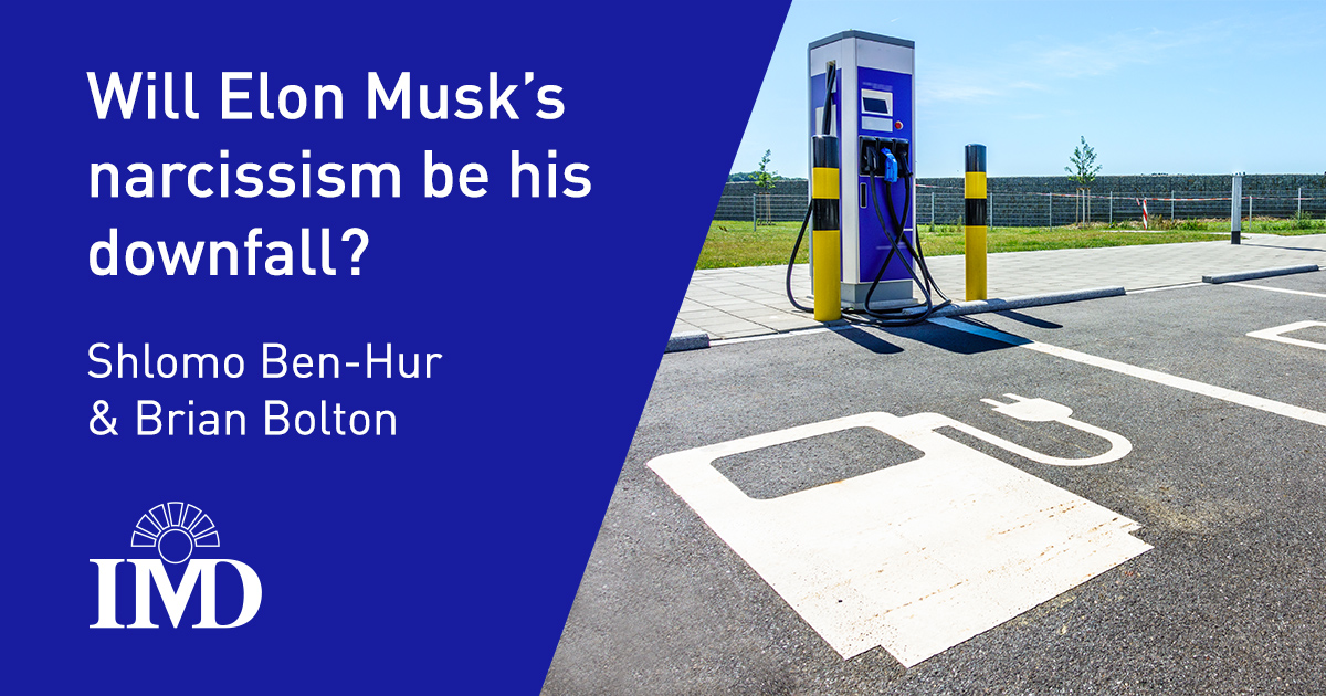 Will Elon Musk's narcissism be his downfall?