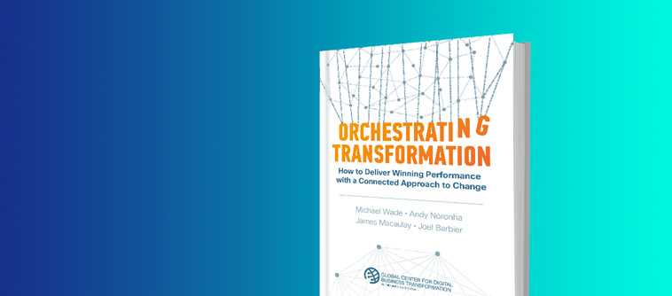 Orchestrating Transformation book
