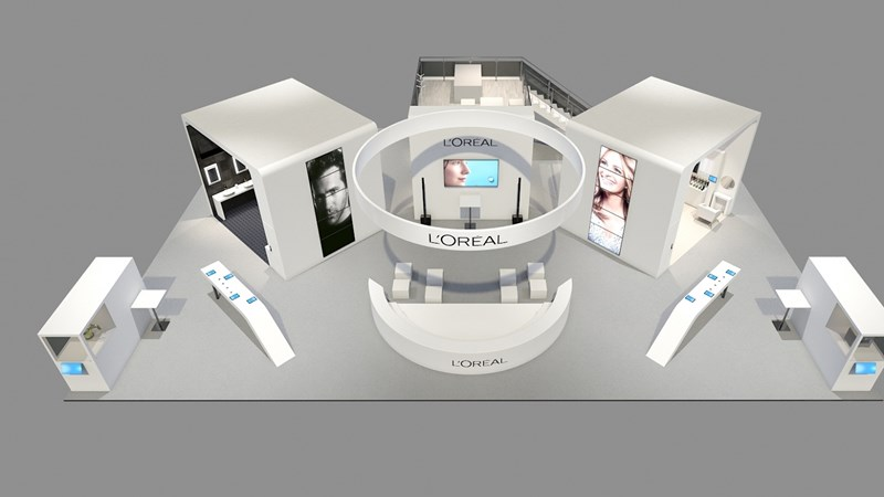 Loreal stand at Viva Technology 2018