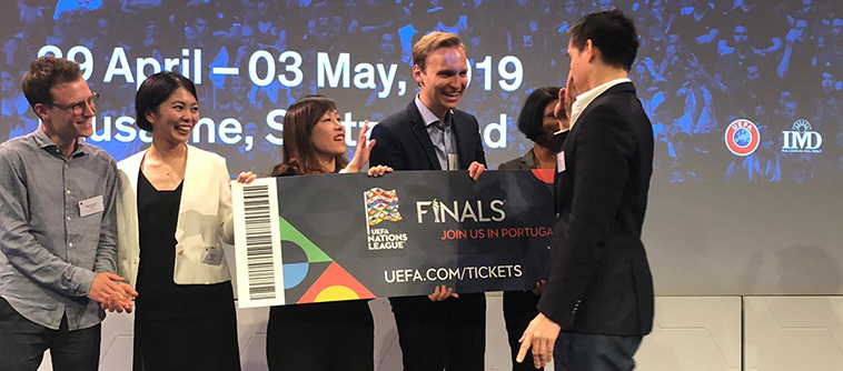 2019 UEFA Innovation Challenge – Ideas Developed by IMD/ECAL Teams