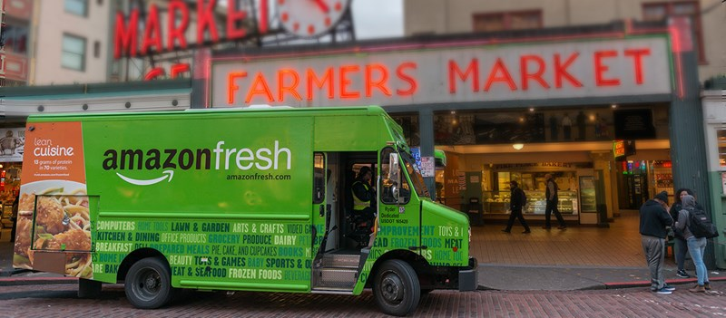 Amazon fresh and the disruption of the supply chain
