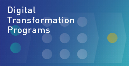 Digital transformation programs homepage