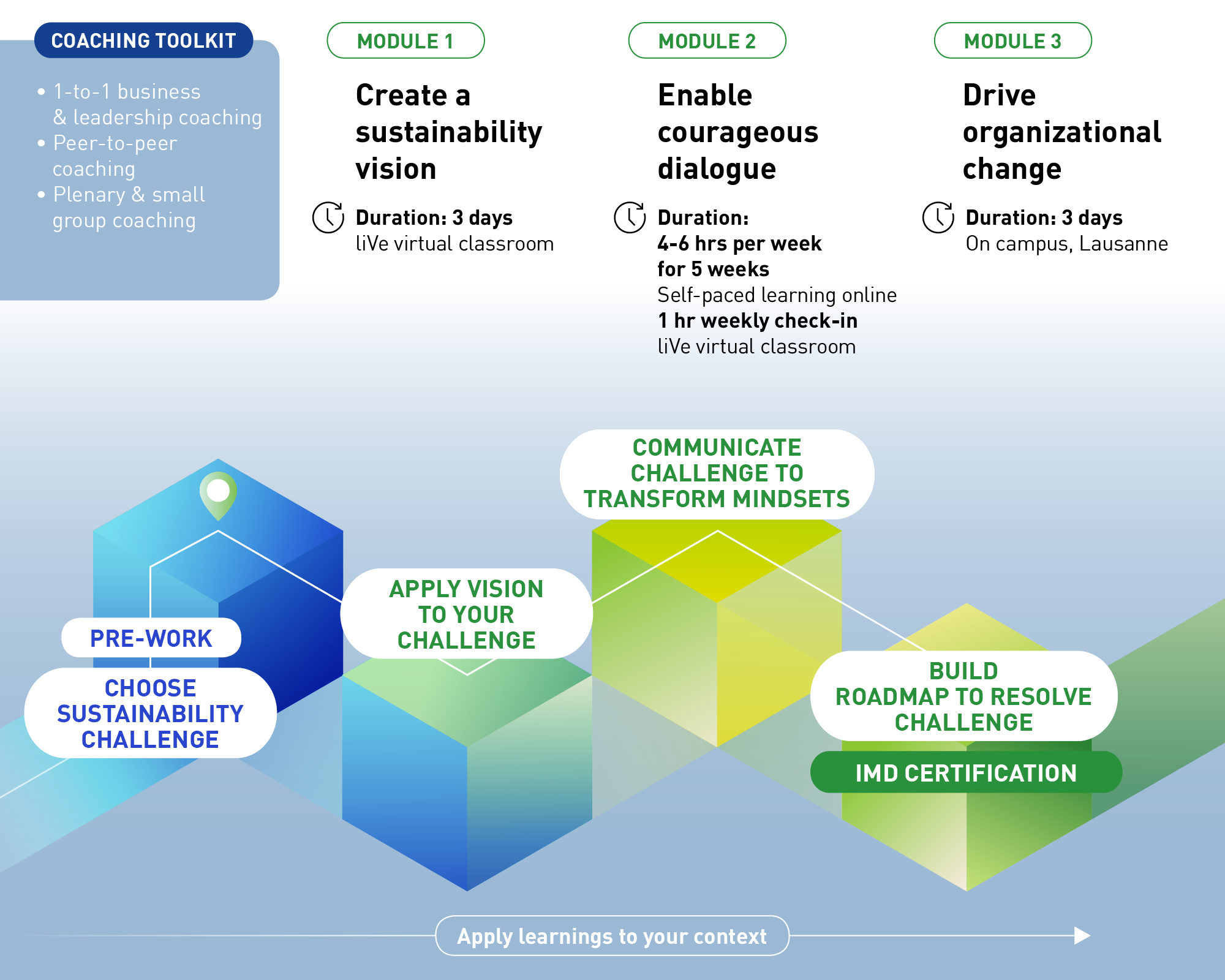 Leading sustainable business transformation