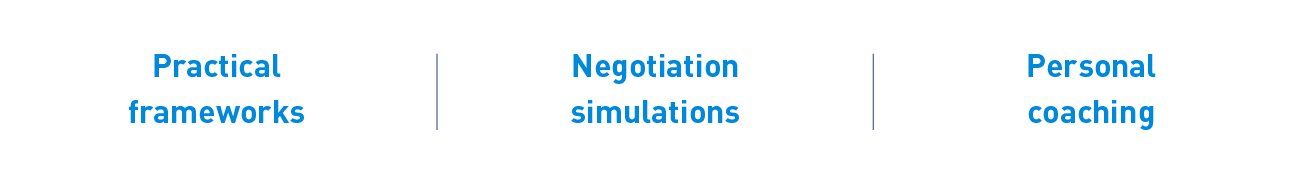 Negotiation course_structure