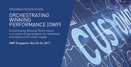 Orchestrating Winning Performance (OWP)
