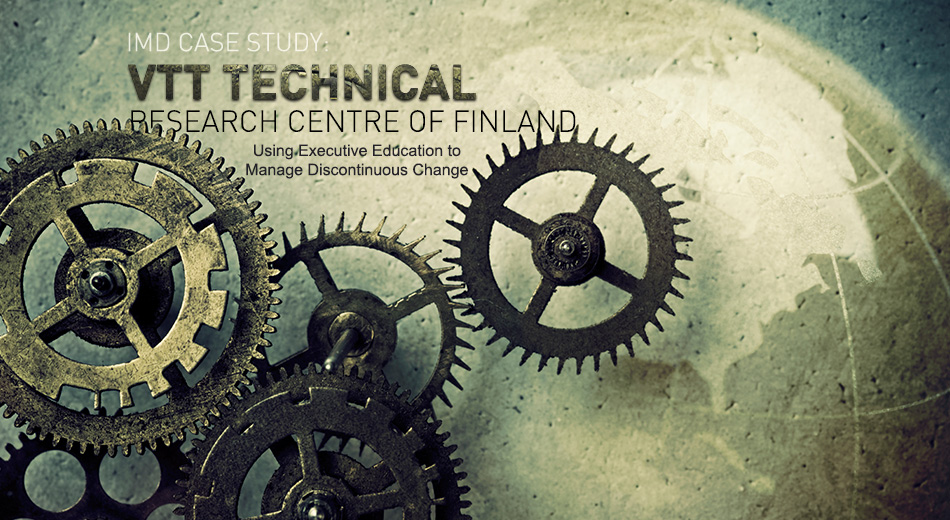 IMD Case Study - VTT Technical Research Centre of Finland